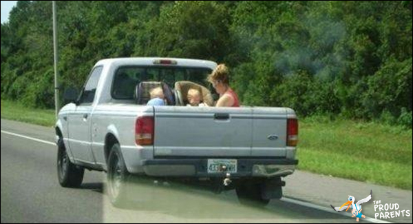 family-back-of-truck
