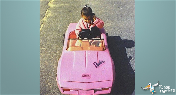 barbie-car