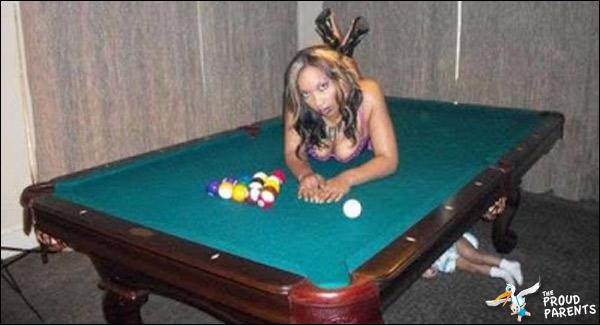 Billiards Amp Baby Parent Fails The Proud Parents